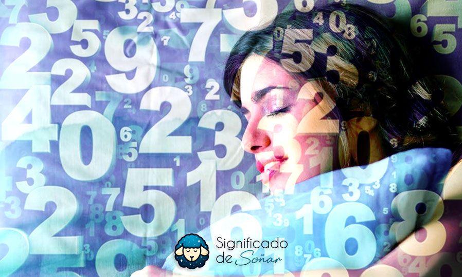 significado de los números en los sueños
