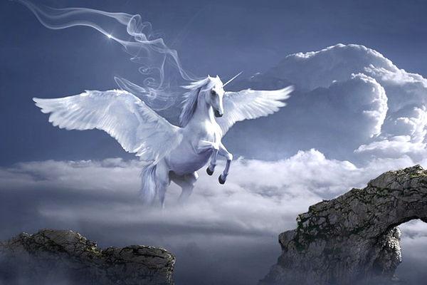 caballo con alas