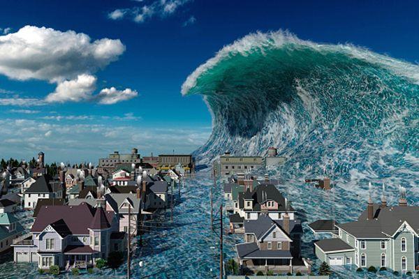 soñar que un tsunami destruye la ciudad