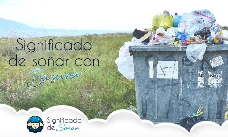 soñar con basura